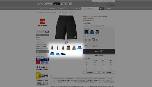 GOLDWIN WEB STORE
