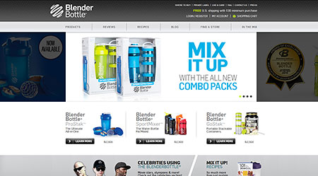 BlenderBottle | Best Shaker Cups & Supplement Storage Systems
