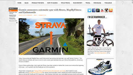 Garmin announces automatic sync with Strava, MapMyFitness and Endomondo
