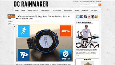 3 Ways to Automatically Copy Your Garmin Training Data to Other Fitness Sites