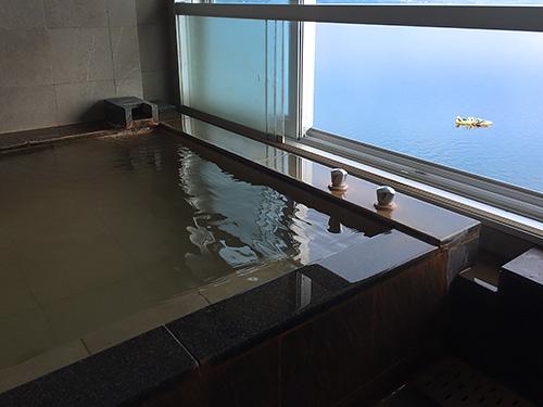 客室に付いている展望風呂