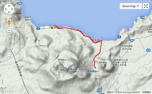 昭和新山まで行って帰ってくるの巻