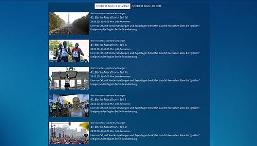 41. Berlin-Marathon - Teil I. ~ V. | ARD Mediathek