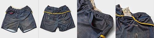MMA Denim Run Pants 60 REG