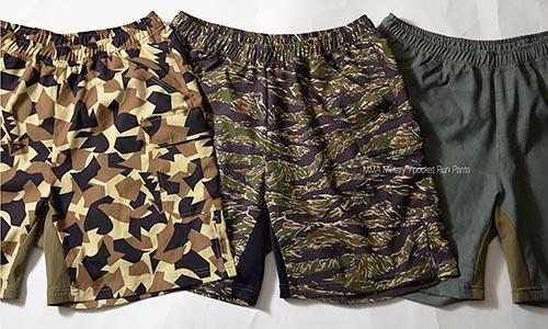 2015秋冬で売り出される予定の MMA Military 7pocket Run Pants 他