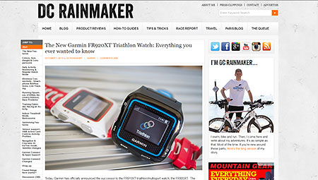 » The New Garmin FR920XT Triathlon Watch: Everything you ever wanted to know | DC Rainmaker