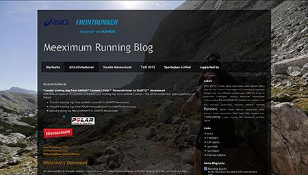 Meeximum Running Blog: MXActivityMover