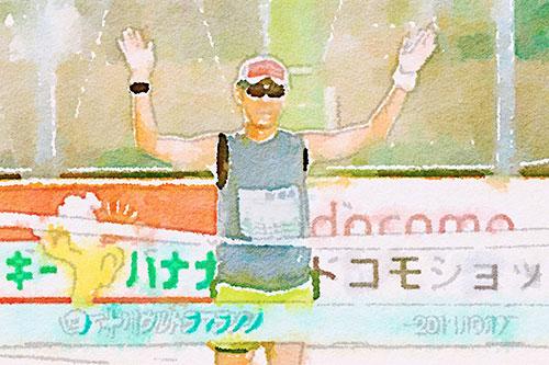 ウルトラマラソン3回目 (第20回四万十川ウルトラマラソン)