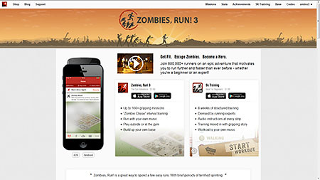 Zombies,Run! | Official Site