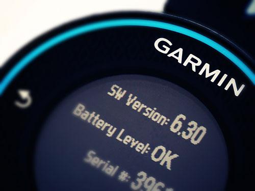 Garmin Forerunner 620 浅いレビュー(21) SW3.1へのアップデートが入りました