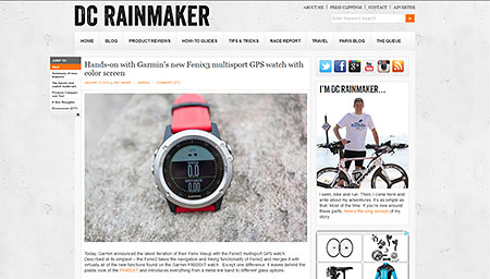 Hands-on with Garmin's new Fenix3 multisport GPS watch with color screen | DC Rainmaker