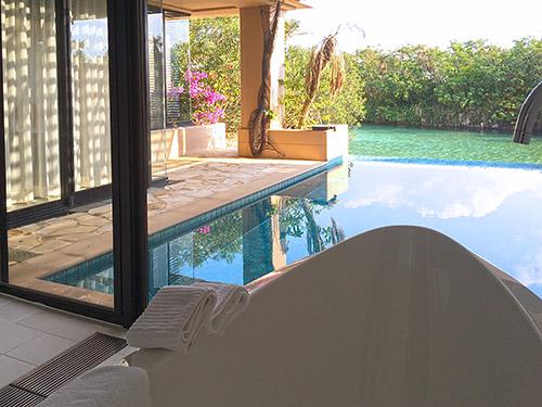 バスルーム & プライベートプール