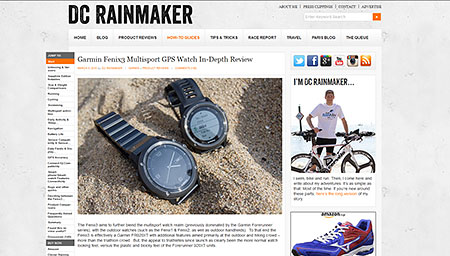 Garmin Fenix3 Multisport GPS Watch In-Depth Review | DC Rainmaker