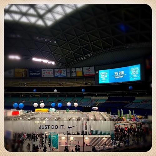 名古屋ウィメンズマラソンEXPO会場@ナゴヤドーム