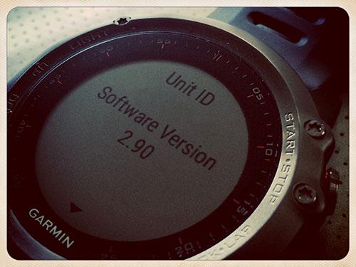 Garmin Fenix 3 浅いレビュー(4) SW2.30から2.90へアンオフィシャルにアップデート