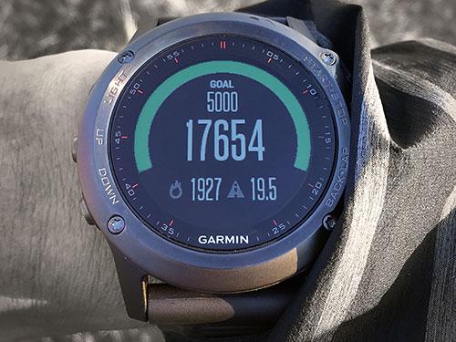 Garmin Fenix 3 浅いレビュー(8) Widgetsのひとつ、Activity Trackingについて