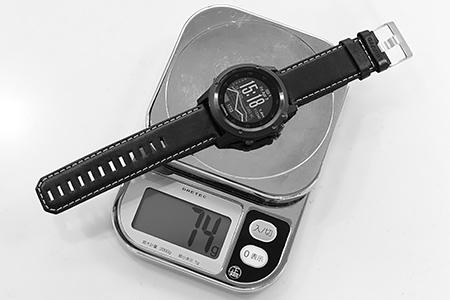 こういった時計は重さは重要です