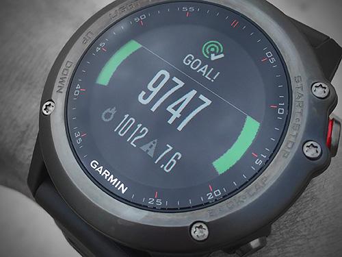 Garmin Fenix 3 浅いレビュー(13) 5000から始まったActivity TrackingのGOALは現在9739