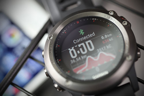 Garmin Fenix 3 浅いレビュー(17) BluetoothのConnected/Disconnectedアラート
