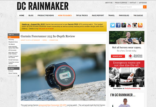»  Garmin Forerunner 225 In-Depth Review | DC Rainmaker