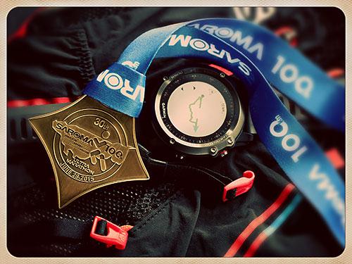 第30回サロマ湖100kmマラソン完走メダル