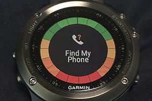 STARTボタンを押すとFind Phone発動