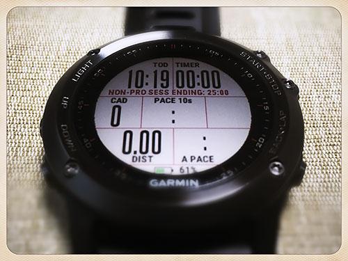 NON PRO SESS ENDING 25:00 - 「計測開始後25分で終了」の機能制限