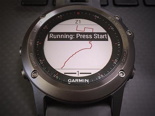 Garmin Fenix 3 浅いレビュー(27) connect IQから:  デバイス本体にルートマップを簡単に取り込める『dwMap』今後に期待