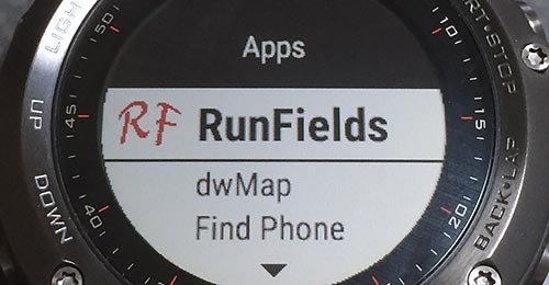 Settings > Apps > RunFields