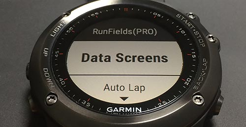 Data Screens