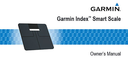 Owner's Manual: Garmin Index Smart Scale