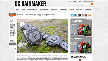 Garmin Forerunner 230 & 235 In-Depth Review