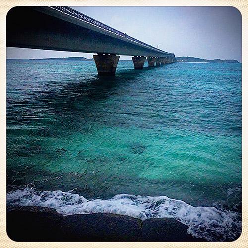 池間大橋 (宮古島側から)