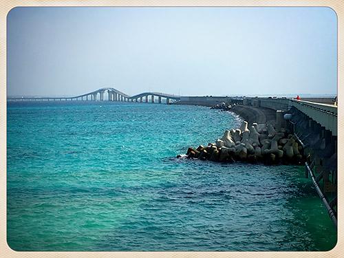 伊良部大橋(伊良部島側から)