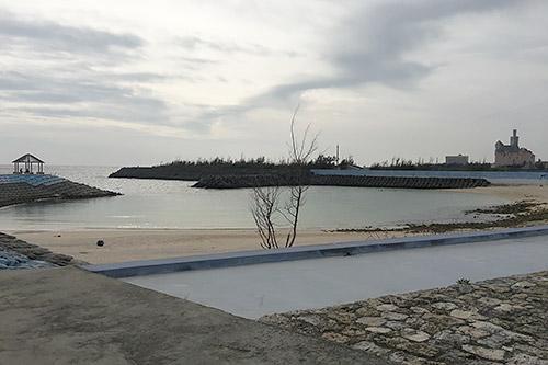 フェリスヴィラスイート 宮古島・上野の前にある海