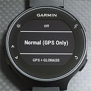 NormalもしくはGPS + GLONASS