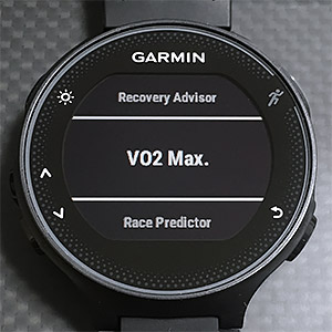 Recovery Advisor、VO2Max、Race Predictor
