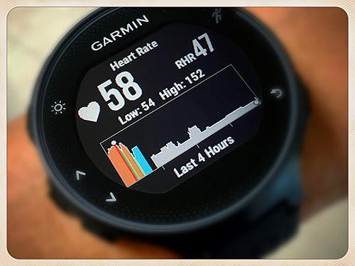 Garmin Forerunner 235 浅いレビュー(4) 内蔵されている光学式心拍計どう?二回目(HRM-Runとの比較)