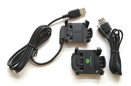 Garmin Fenix 3 浅いレビュー(41) USBケーブル部分が取り外せるFenix 3用充電クレードル(非純正品)