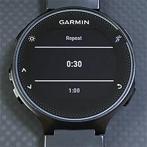 初起動時にはプリセットの0:30が表示される。用意されているプリセットは 30 秒、1 分、1 分 30 秒、2 分、5 分、30 分。