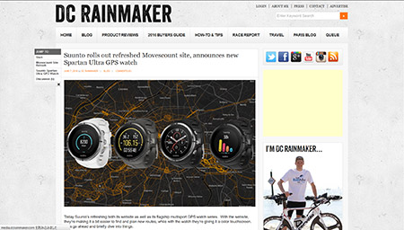Suunto rolls out refreshed Movescount site, announces new Spartan Ultra GPS watch | DC Rainmaker