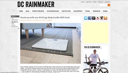 Hands-on with new Withings Body Cardio WiFi Scale | DC Rainmaker