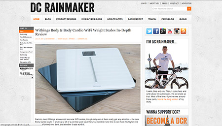 Withings Body & Body Cardio WiFi Weight Scales In-Depth Review | DC Rainmaker
