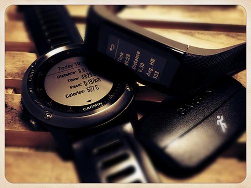 VSHR+、Fenix 3&HRM-Run