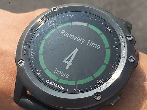 Recovery Time は4時間
