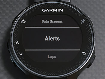 AlertsでStart/Stopボタンを押す