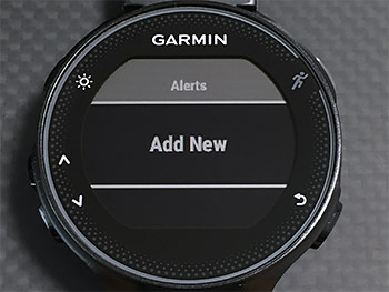 Add NewでStart/Stopボタンを押す