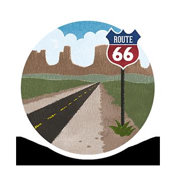 Route 66 - 4,000km