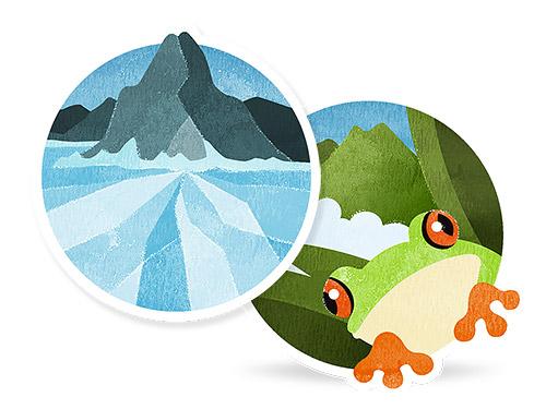 【Withingsのバッジ-累積距離】Lake Baikal、Costa Ricaまとめて獲得
