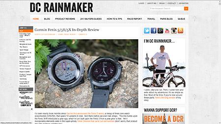 Garmin Fenix 5/5S/5X In-Depth Review | DC Rainmaker